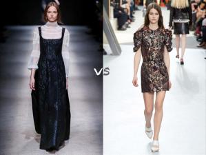 abito lungo vs abito mini